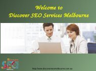 Internet Marketing Services Melbourne