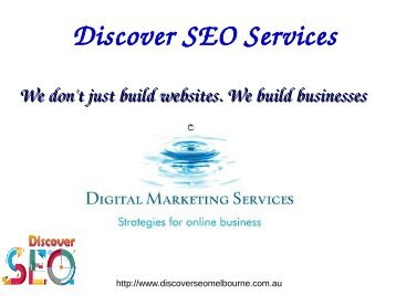 Online Marketing Melbourne SEO Services