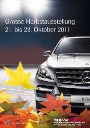 grosse herbstausstellung 21. bis 23. Oktober 2011