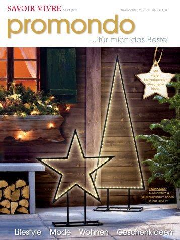 Promondo Weihnachten 2015