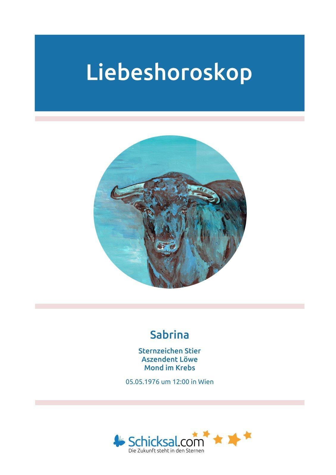 Stier - Liebeshoroskop