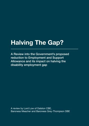 Halving The Gap?