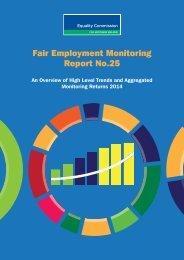 Fair Employment Monitoring Report No.25
