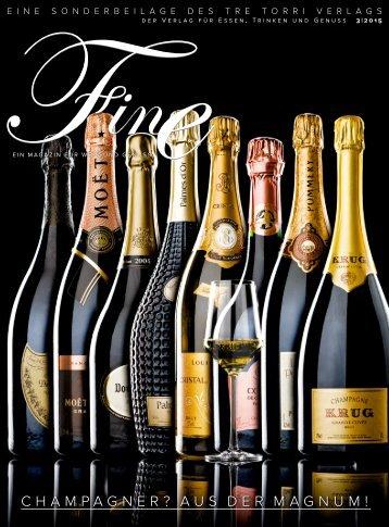 FINE Ein Magazin für Wein und Genuss 32015