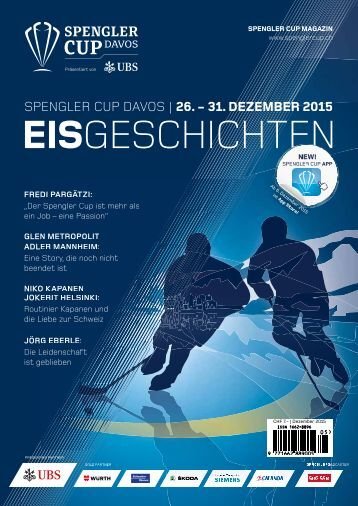 Spengler Cup Magazin EISGESCHICHTEN