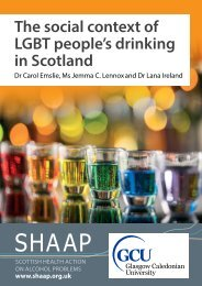 The social context of LGBT people's drinking in Scotland