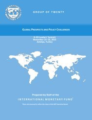 GLOBAL PROSPECTS POLICY CHALLENGES