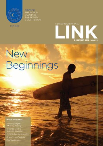 CIDESCO-LINK December 2015 issue