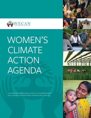 WOMEN'S CLIMATE ACTION AGENDA