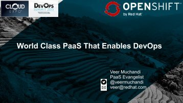 World Class PaaS That Enables DevOps
