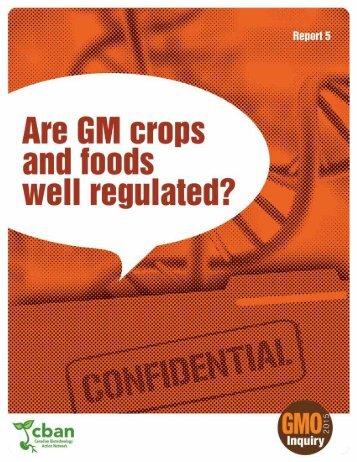 well regulated?