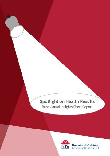 Spotlight on Health Results