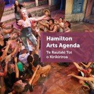 Hamilton Arts Agenda