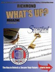 Stratford University -  2015 Holiday Issue Richmond
