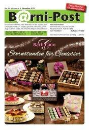 Barni-Post, KW 50, 9. Dezember 2015