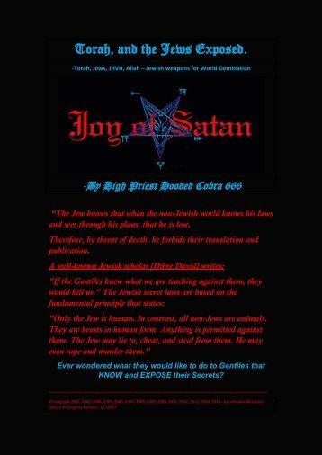 Torah and the Jews Exposed