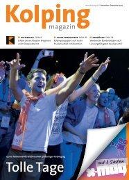 Kolpingmagazin 11-12 2015