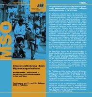 Flyer zur Veranstaltung laden (PDF) - BBE