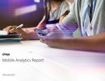 Mobile Analytics Report