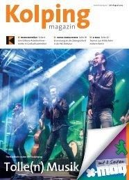 Kolpingmagazin 07-08 2015