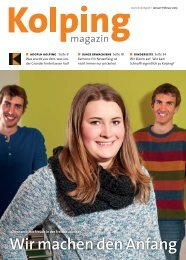Kolpingmagazin 01-02 2015
