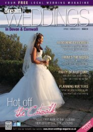 Dream Weddings Magazine - Devon & Cornwall