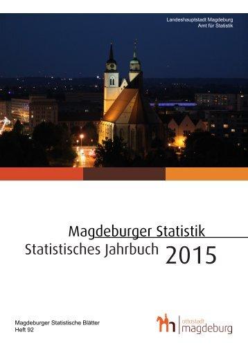 Statistisches Jahrbuch 2015