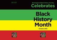 Bromsgrove Black History Society Celebrates Black History Month ...