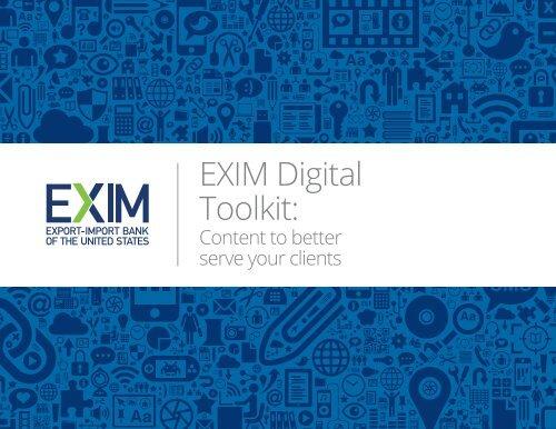 EXIM Digital Toolkit