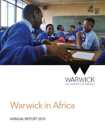 Warwick in Africa