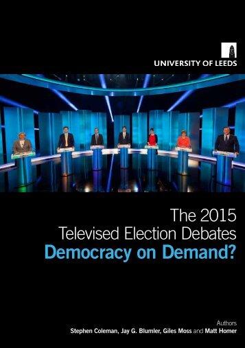 Democracy on Demand?