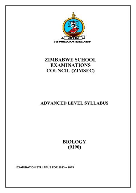 zimsec ordinary level shona syllabus