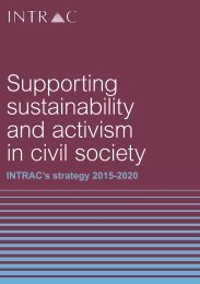 Supporting sustainability and activism in civil society