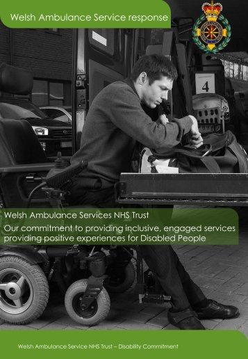 Welsh Ambulance Service response