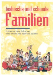 Band 1 - Lesbische und schwule Familien