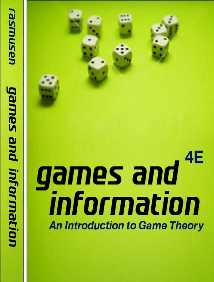 game theory introduction The understanding of game theory concepts and the introduced solution approaches can enlighten in nearly all areas of life – after all, along with economics, it is not for nothing that game theory is applied in a huge number of disciplines, from sociology through politics and law to biology.