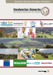 Handwerker- und Gewerbeinfo Prättigau Ausgabe 2