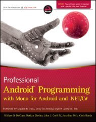 Professional Android Programming with Mono (Professional)