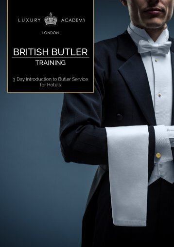BRITISH BUTLER