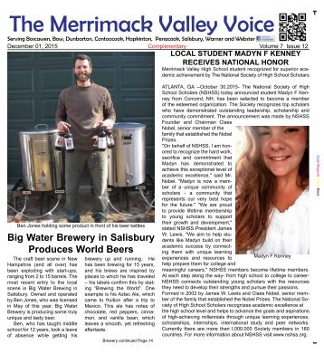 Merrimack Valley Voice - December 2015