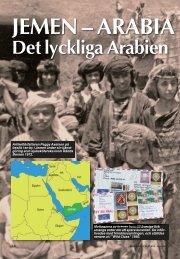 JEMEN – ARABIA Det lyckliga Arabien - Nordisk Filateli