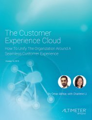The Customer Experience Cloud