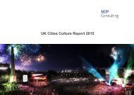 UK Cities Culture Report 2015