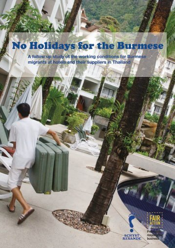 No Holidays for the Burmese