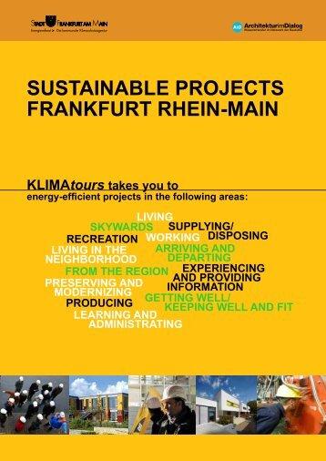 KLIMAtours - Architektur im Dialog