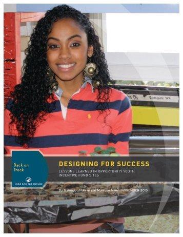 DESIGNING FOR SUCCESS