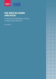 THE BRITISH BOMB AND NATO
