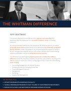 Whitman PhD Brochure - Page 2