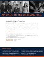 Whitman PhD Brochure - Page 6