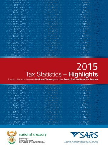 Tax Stats 2015 Highlights